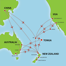 Tourism Tonga The Best Yearround South Pacific Holiday Destination - Tonga map
