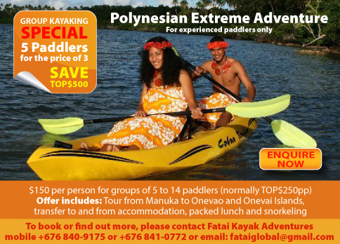 Fatai Kayak Adventures Hot Deal