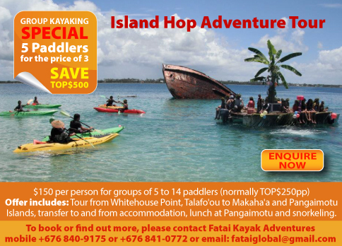 Fatai Kayak Adventures Deal