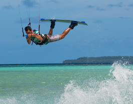 Surfing and Kiteboarding