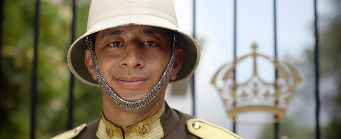 Kingdom of tonga Palace Guard