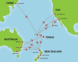 Flights to tonga